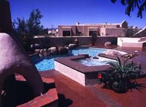 Natural pool in Tucson