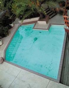 Tucson pool before rennovation